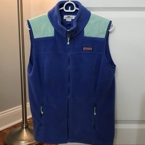 Vineyard Vines women's fleece vest